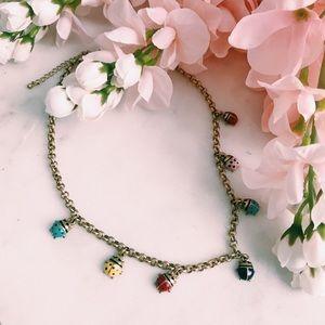 Ladybug Necklace 🌷